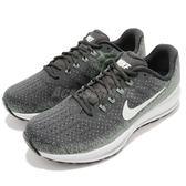 Nike 慢跑鞋 Air Zoom Vomero 13 綠 灰 13代 避震穩定 運動鞋 男鞋【PUMP306】 922908-006