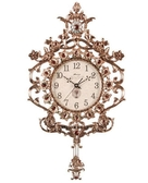 正品掛鐘MapleLeaf楓葉鐘表金屬3012客廳掛鐘田園歐式靜音時鐘