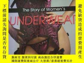 二手書博民逛書店THE罕見STORY OF WOMEN S UNDERWEAR