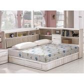 床架 CV-141-1A 瑪奇朵北歐栓木5尺雙人床 (床頭+床底)(不含床墊) 【大眾家居舘】
