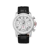 新品上市 ◢BENTLEY 賓利◣三眼計時石英錶  日本機芯 德國製BL1694-10WWB 白面