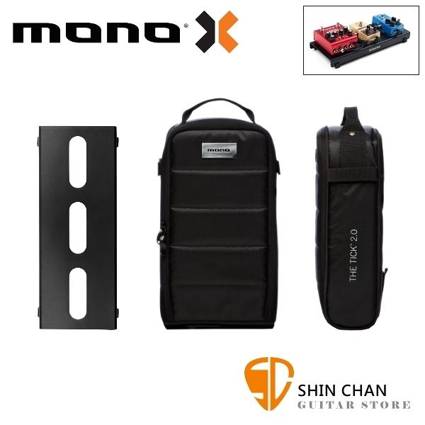 美國 MONO PEDALBOARD LITE 黑色便攜型效果器盤 + TICK 2.0 便攜型效果器袋【PFX-PB-LT-BLK】