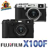 【24期0利率】FUJIFILM 富士 X100F 恆昶公司貨 黑色 F2 大光圈定焦鏡頭 類單眼 fuji