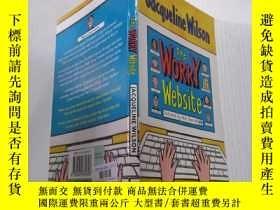 二手書博民逛書店The罕見Worry Website擔憂網站Y212829