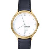 3.8公分設計系列腕錶 - 金 Mondaine 瑞士國鐵錶