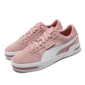 Puma 休閒鞋 Cali Taped 粉紅 白 女鞋 運動鞋 麂皮 復古設計 【ACS】 37081904