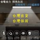30公分充電式鋁合金磁吸LED感應燈(感應/長亮雙模式切換)
