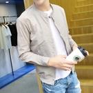2021新品外套男士百搭薄款外衣春秋夏季棒球服防曬衣服潮流夾克衫【快速出貨】