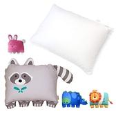美國Milo&Gabby 動物好朋友-超細纖維防璊大枕心+大枕頭套(多款可選)