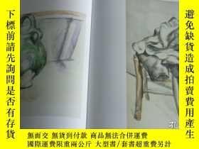 二手書博民逛書店2手英文罕見Cezanne by Himself 塞尚畫冊 xf