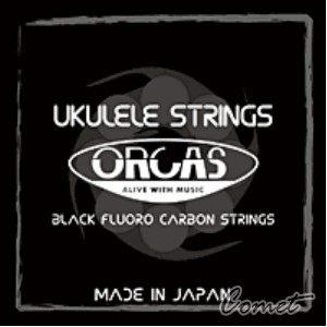 【21.23吋烏克麗麗弦】ORCAS 烏克麗麗弦 OS-MED LG Ukulele 黑瑩石中張力烏克麗麗弦(夏威夷小吉他)