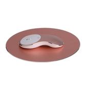 鋁合金無線滑鼠充電靜音男女生便攜筆記本台式無限遊戲滑Q8 凱斯盾