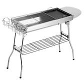 烤肉架 燒烤爐家用木炭不銹鋼燒烤架戶外碳烤肉爐子架子加厚野外全套用具 -好家驛站