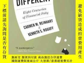 二手書博民逛書店罕見ye-9780691152646-This Time Is Different : Eight Centuri
