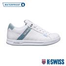 K-SWISS Lundahl WP防水系列 時尚運動鞋-女-白/淺綠