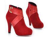 高跟短靴-俐落高檔帥氣女靴子4色nws14【巴黎精品】