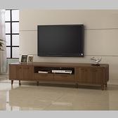 木紋北歐7尺電視櫃 視聽櫃 TV櫃 7尺長櫃 YD米恩居家生活