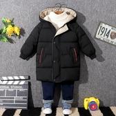 兒童外套 冬季新款兒童羽絨棉服男童女童寶寶棉衣中小童加厚中長款外套