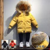 【雙十二】預熱兒童冬裝男童棉衣2018新款中長款寶寶棉襖女童羽絨棉服外套小童潮  巴黎街頭