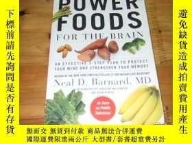 二手書博民逛書店power罕見foods for the brain ISBN9