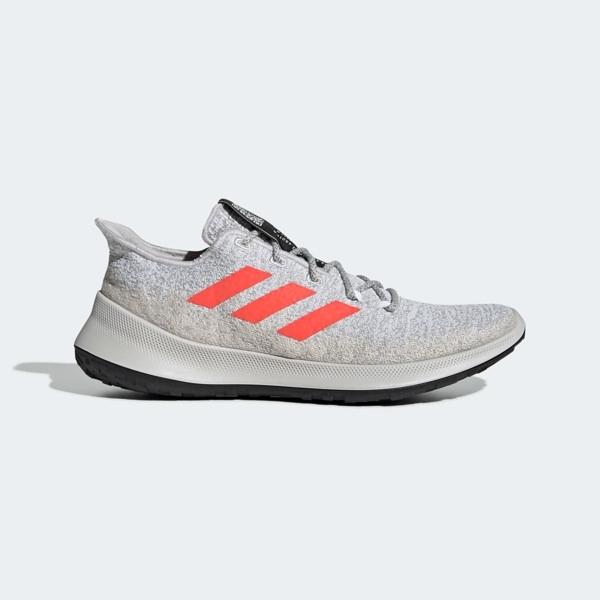 Adidas SenseBounce   M [G27234] 男鞋 慢跑 運動 避震 透氣 舒適 健身 愛迪達 灰橘