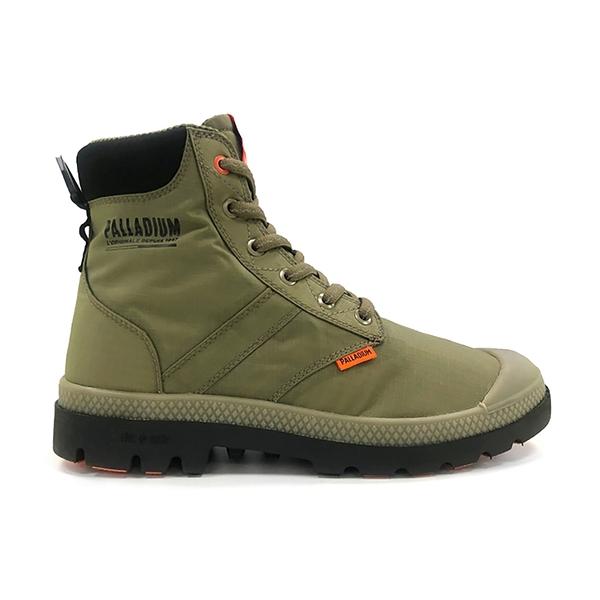 PALLADIUM PAMPALITE+SCVAPORWP+ 綠 男女 高筒 防潑水 穿搭 靴子 76865377