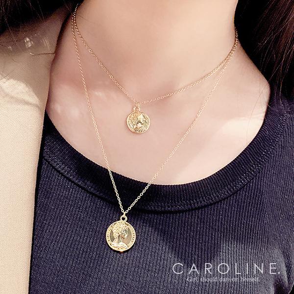 《Caroline》★韓國熱賣造型時尚 與眾不同的時尚流行感項鍊70848