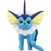 〔小禮堂〕神奇寶貝Pokémon 水伊布 迷你塑膠公仔玩具《藍》寶可夢公仔.模型 4904810-59934