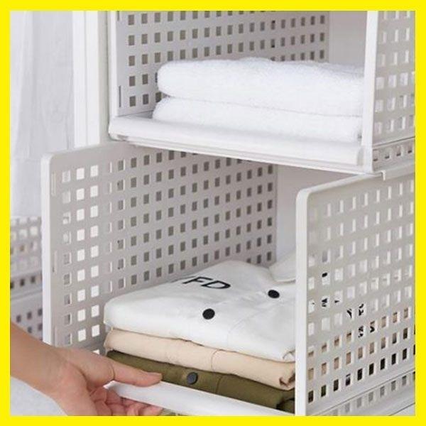 衣服收納箱抽屜式收納筐塑膠分隔多層衣櫥