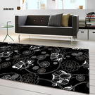 范登伯格 圓舞曲 百花齊放絲質地毯-160x230cm