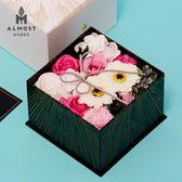 七夕情人節禮物香皂花禮盒送女友閨蜜實用結婚禮物畢業季禮品  AB4844  【男人與流行】