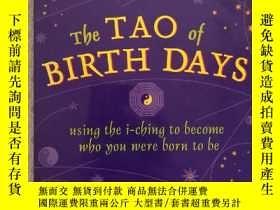 二手書博民逛書店16開英文原版罕見The Tao of BIRTH DAYS :