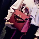 手提包女新款小包啞光凱莉包歐美時尚女包單肩包斜挎包【夏日清涼好康購】