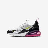 Nike Air Max 270 GS [943345-102] 大童鞋  運動 休閒 氣墊 緩震 籃球 穿搭 白黑