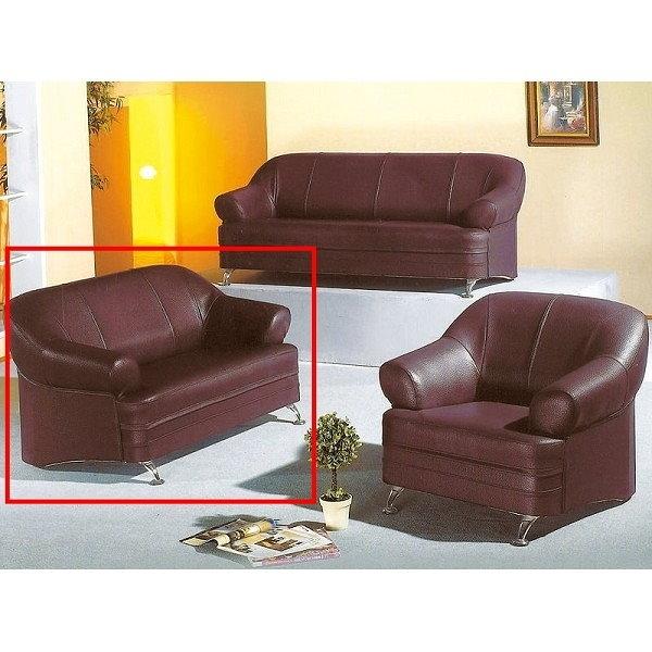 沙發組 AT-682-7 968型咖啡色沙發2人座【大眾家居舘】