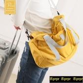 【YPRA】容量斜挎手提旅游折疊行李袋
