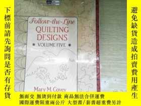 二手書博民逛書店Follow罕見the fine ouilting desingnsY253683 . .