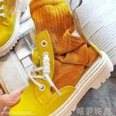 兒童女靴 春秋季新款韓版女童公主靴兒童中筒軟底透明馬丁靴中大童靴子 唯伊時尚