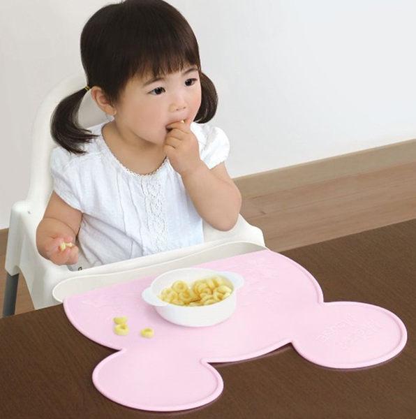 日本 迪士尼 Disney 米妮餐墊 (立體口袋/凹槽設計)