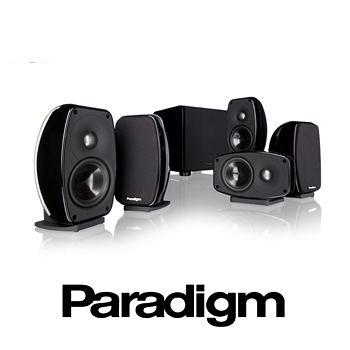 【名展音響】加拿大 Paradigm Cinema 100CT™ 5.1劇院組合 公司貨 黑色
