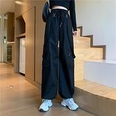 背帶褲女腳休閒褲氣質百搭高腰顯瘦束褲子【少女顏究院】