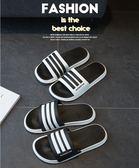 涼拖鞋男士潮拖夏季時尚外穿一字拖防滑軟底浴室夏天男鞋涼鞋   中秋節下殺