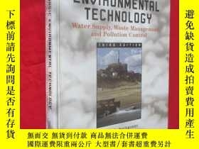二手書博民逛書店Basic罕見Environmental Technology: Water Supply, Waste Mana