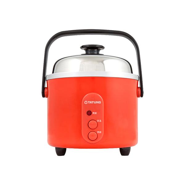 大同TATUNG 大同電鍋 3人份不鏽鋼內鍋電鍋 朱紅色 TAC-03S-D