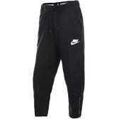 Nike NSW AV15 PANT 女 黑 九分寬褲 運動長褲 休閒褲 棉褲 休閒 884411010