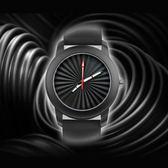 手錶 創意簡潔設計腕錶太陽紋夜光針硅膠錶帶手錶 莫妮卡小屋