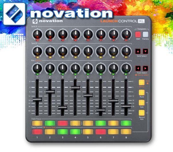 【小麥老師 樂器館】好禮贈送!NOVATION LAUNCH CONTROL XL 控制器