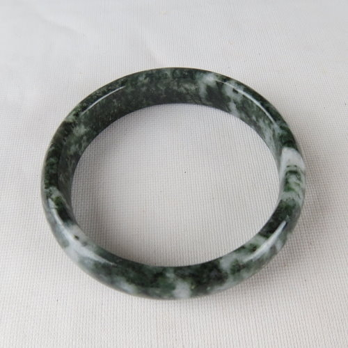 魯山綠玉手鐲#1625 60.1mm