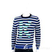 KENZO Striped K 撞色條紋棉料針織衫 1830414-04