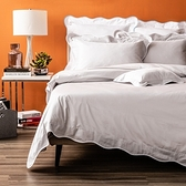 (組)艾薇菈埃及棉素色床被組雙人銀灰
